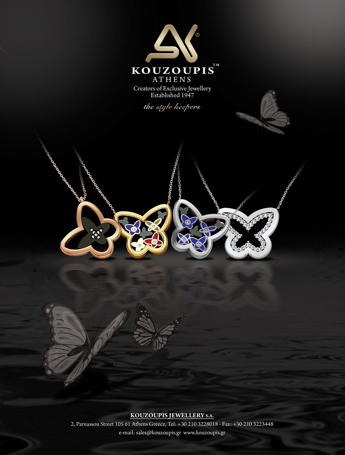 18k elegant jewellery, gold jewelry, precious stones, gold jewellery, diamond jewellery, butterfly
