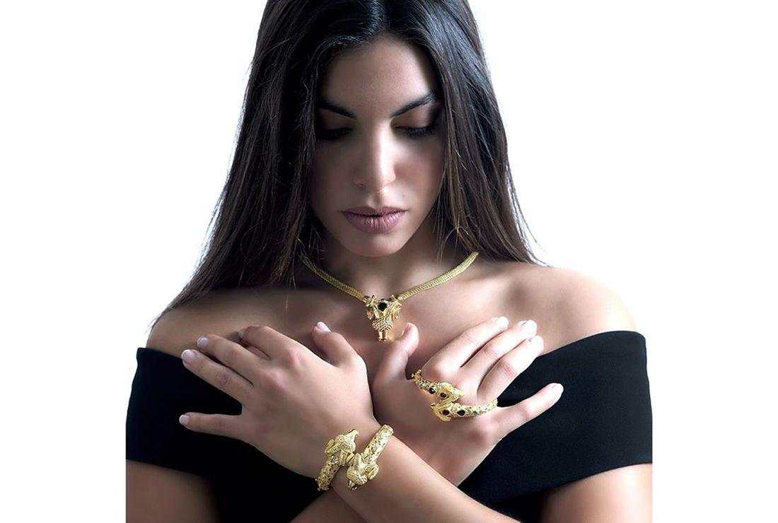 18k elegant jewellery, gold jewelry, precious stones, gold animal jewellery