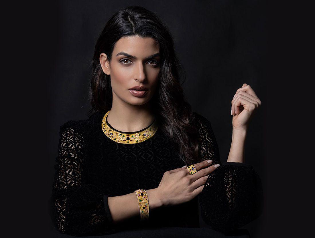 18k elegant jewellery, gold jewelry, precious stones, imperial jewellery